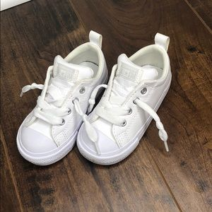 Toddler White Converse